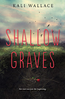 Shallow Graves by Kali Wallace book cover