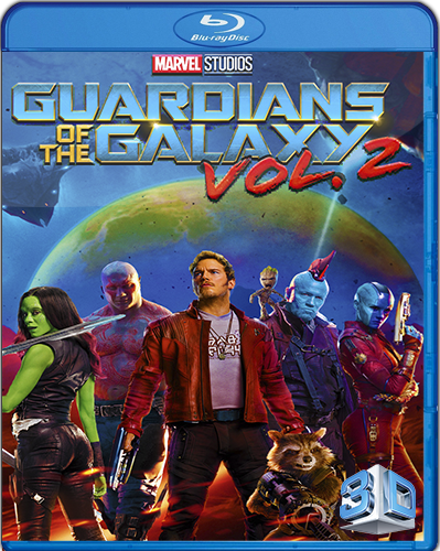 Guardians of the Galaxy Vol. 2 [2017] [BD25] [Latino] [3D]