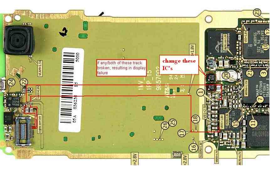 Nokia N Gage Circuit Diagram And Schematics