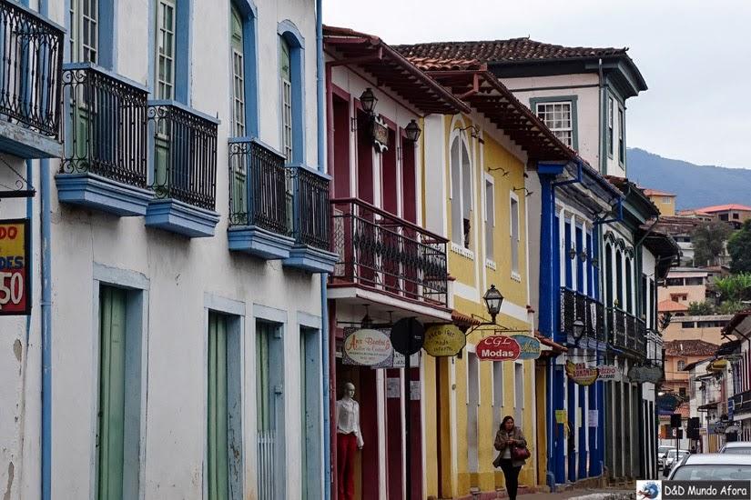 Rua Direita - Roteiro 1 dia em Mariana