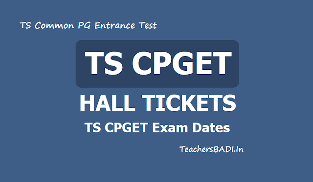 TS CPGET Hall tickets 2019 download from tscpget.com & Exam Date: starts from June 14