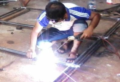bengkel las listrik, las argon, jasa konstruksi kota Bandung jabar