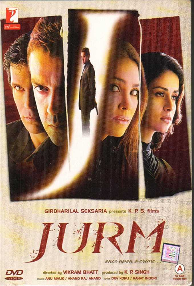 Poster Jurm 2005 Full Movie Free Download Hindi 300Mb
