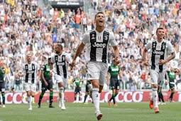 Bahagianya Ronaldo Usai Cetak Gol Pertama buat Juventus