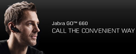 Jabra GO 660 Bluetooth headset comes with Noise Blackout Extreme