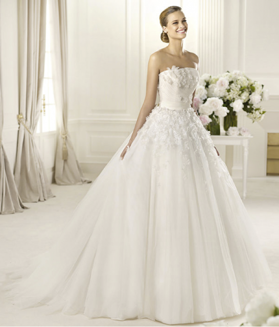 Wedding Gowns And Their Prices: Annie's Fashion Break: Romantic 2013 Wedding Dresses From