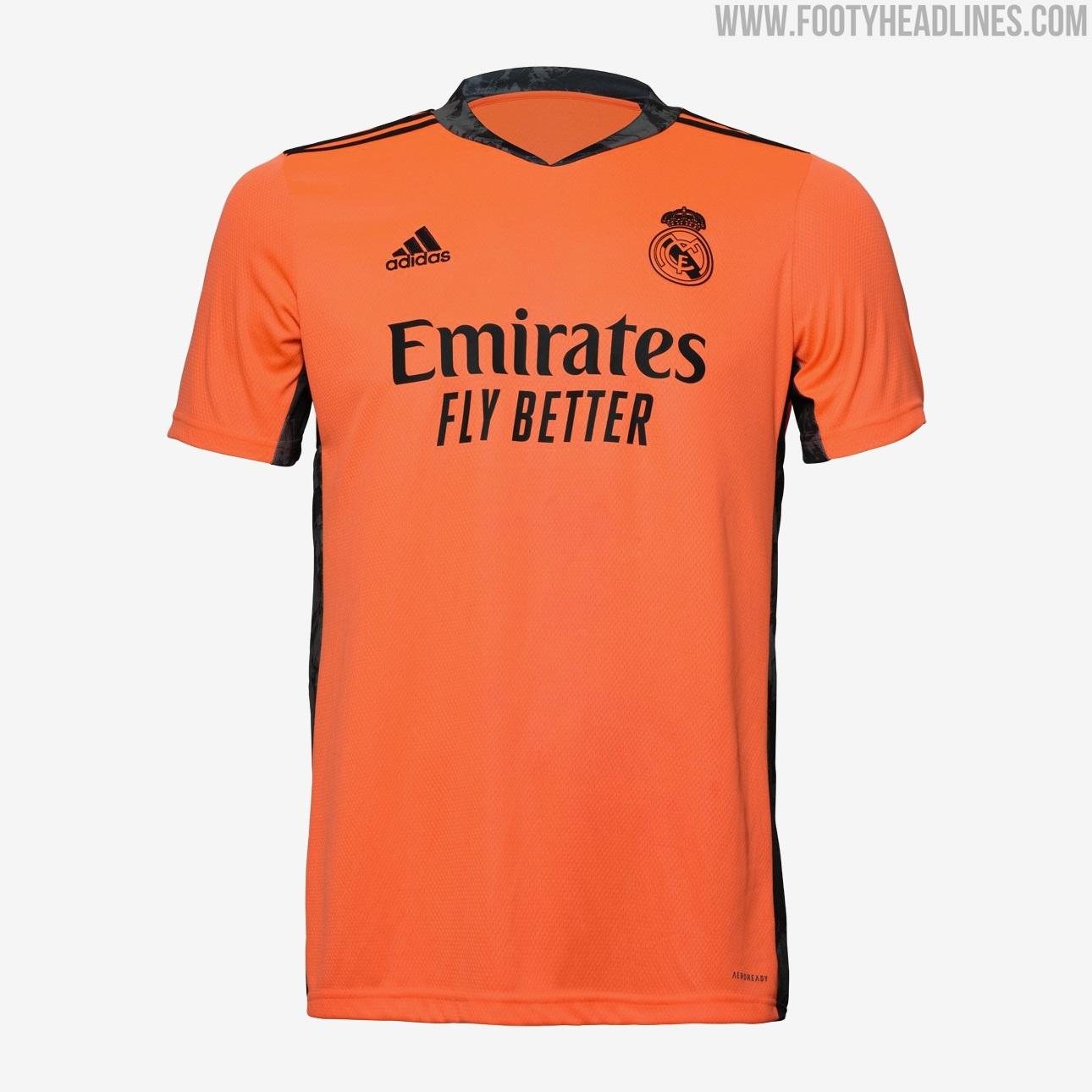Real Madrid 20-21 Goalkeeper Kits Released - Footy Headlines