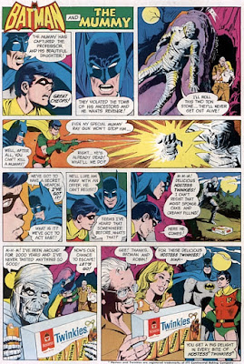 DC Comics Batman Hostess Twinkies ad