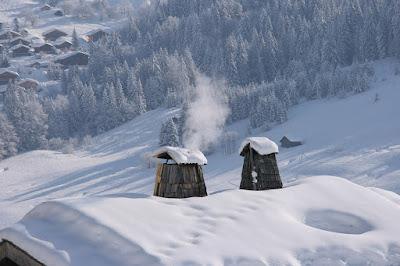 Kányádi Sándor, tél, vers, vers-szombat, Tél derekán, téli erdő, téli táj, kémény