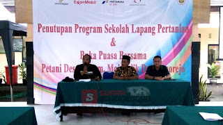 EMCL Beri Apresiasi Hasil Sekolah Lapang LPPM Unigoro
