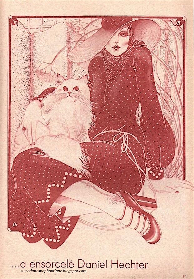 Hélène Majera illustration 1970s