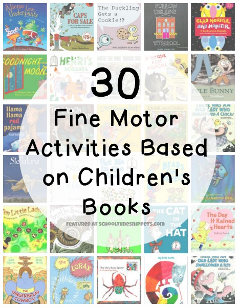fine motor ideas for kids