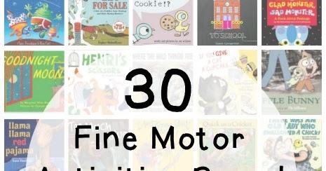 30 Storybook Inspired Fine Motor Activities