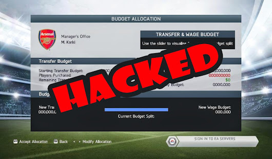 FIFA 14 career mode budget hack