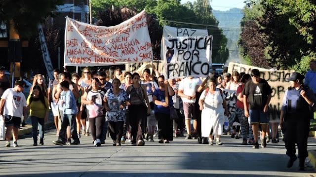 Resultado de imagen para justicia por franco gavilan el bolson