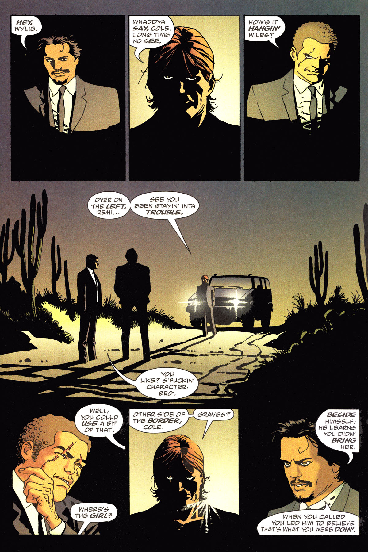 Read online 100 Bullets comic -  Issue #79 - 14