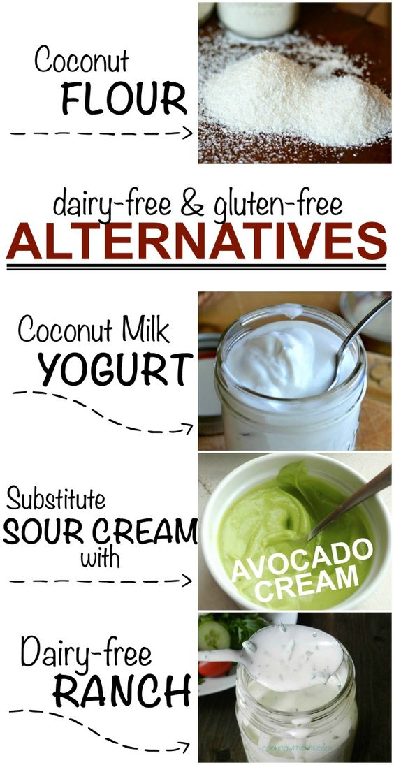 Alternative recipes that are dairy-free & gluten-free! Whether you are are trying to avoid one or the other (or both). We have you covered!