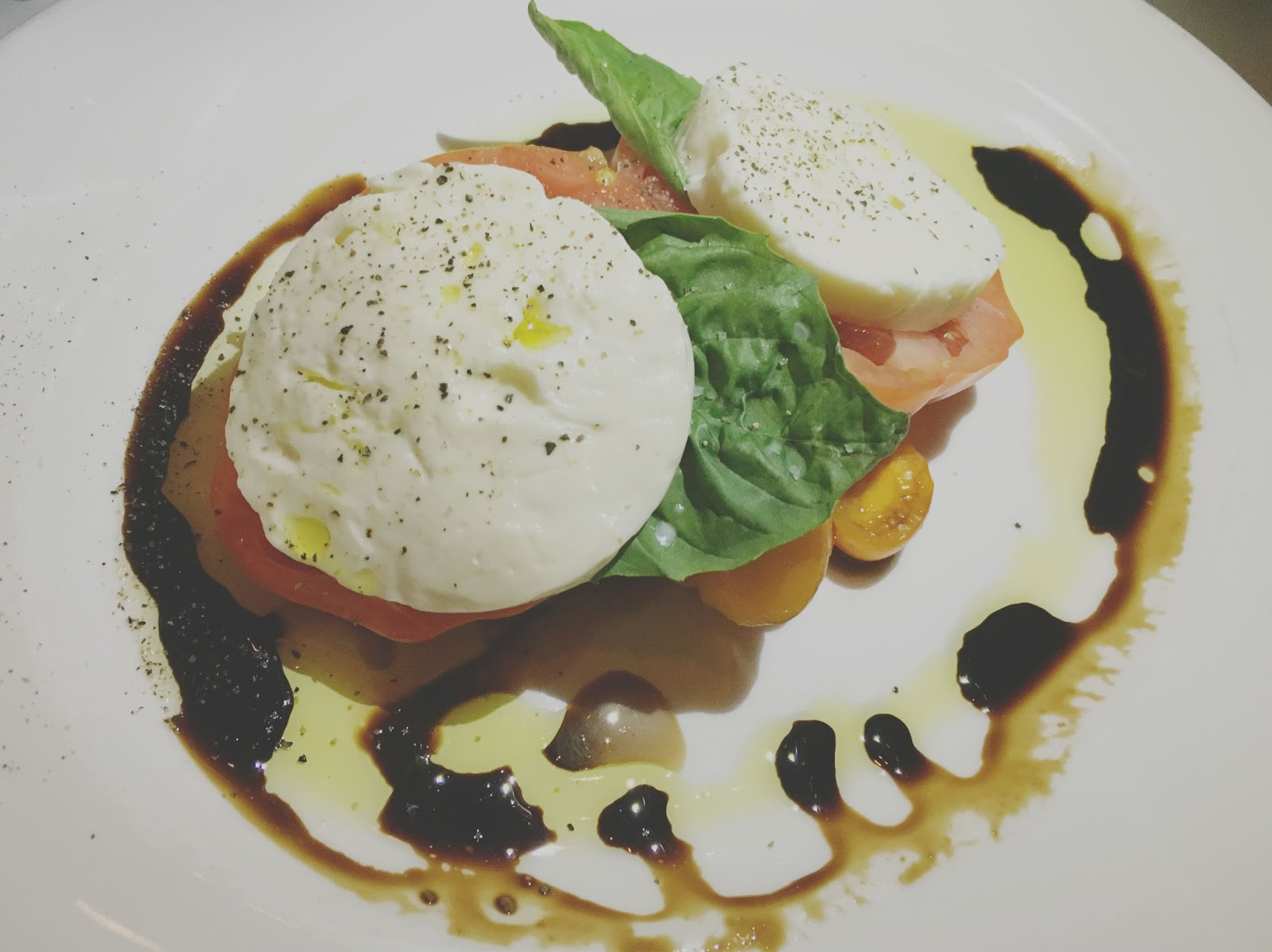 mozarella, tomato, and basil salad at The Capital Grille - A restaurant in Houston, Texas