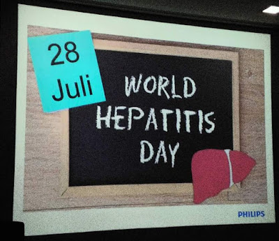 Hari Hepatitis Sedunia - Screening Dini dan Stop Diskriminasi