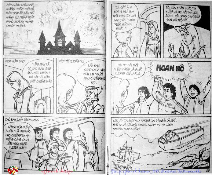 Dũng Sĩ Hesman tập 3 - mãng xà giả dạng trang 28