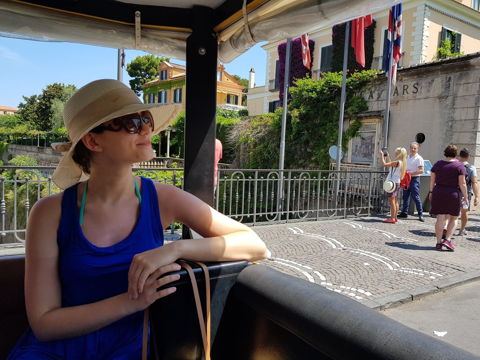 sorrento italy train ride holiday sightseeing visit