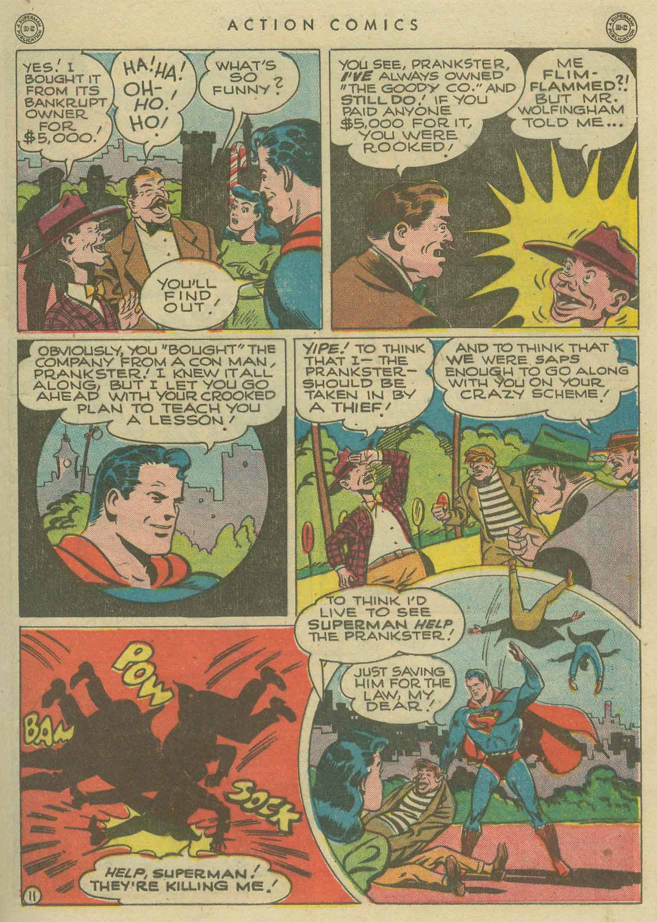 Read online Action Comics (1938) comic -  Issue #104 - 13