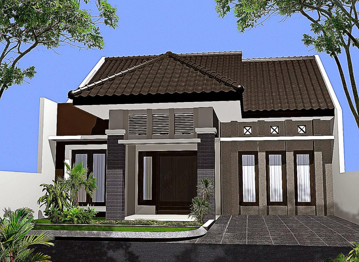 Top Contoh Warna Cat Rumah Sederhana  Informasi Desain dan Tipe Rumah