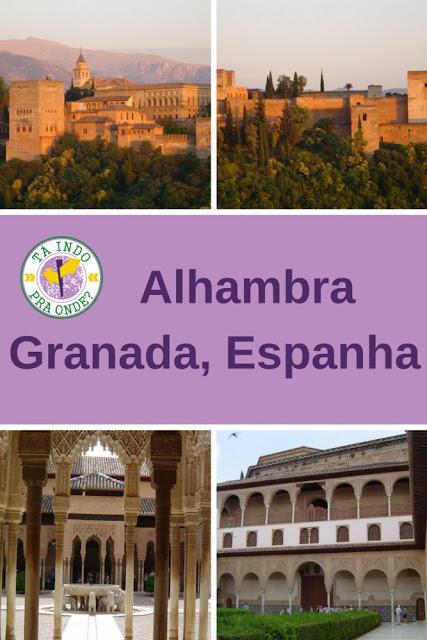 Alhambra, Granada (Espanha)