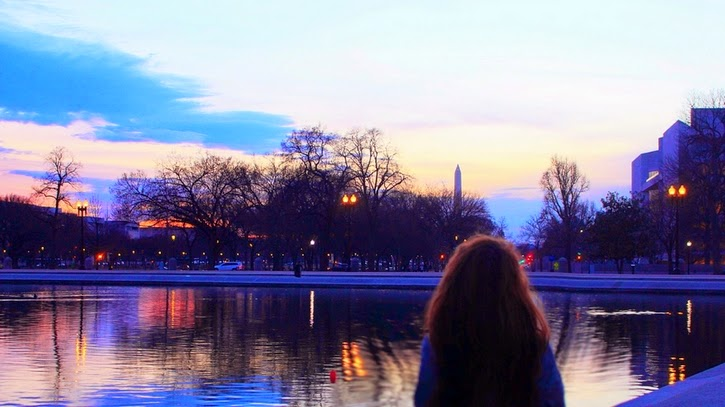 sunset washington d.c