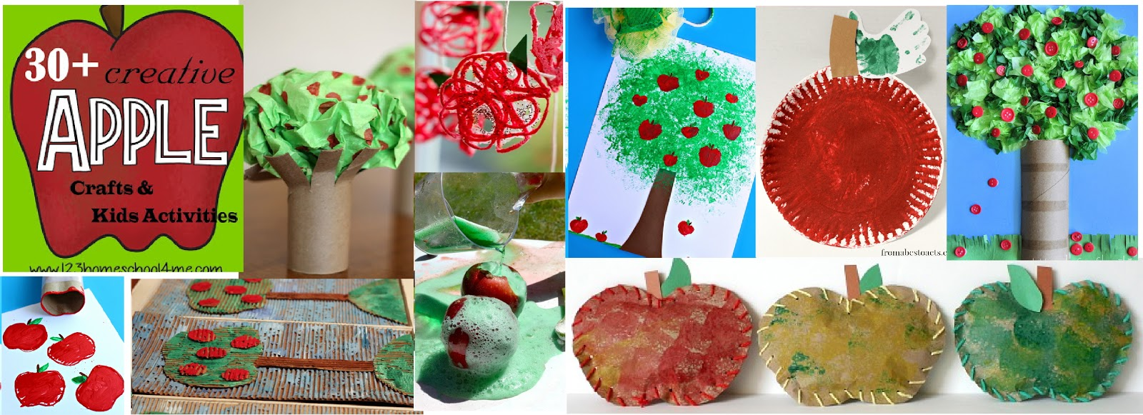 30 Apple Crafts Amp Kids Activities For September