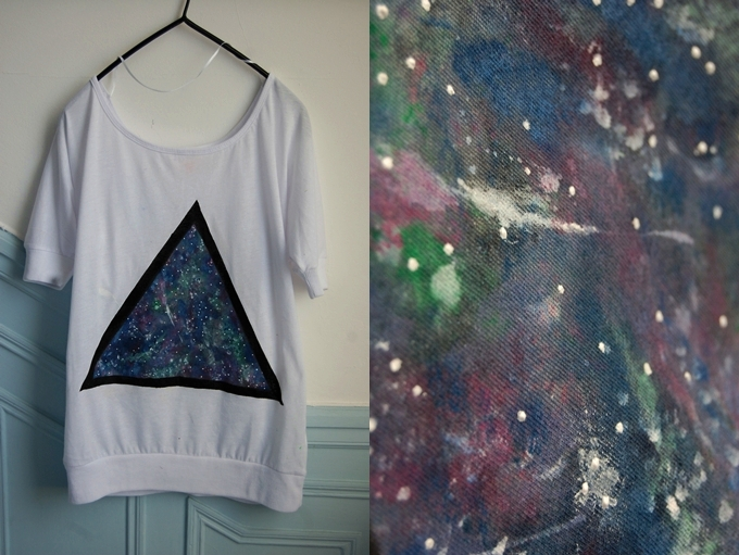 DIY Nebula Shirt - Pics about space