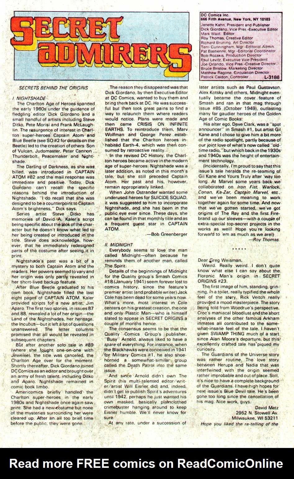 Read online Secret Origins (1986) comic -  Issue #28 - 45