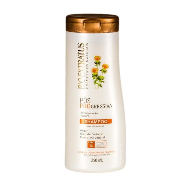 Shampoo Sem Sulfato Pós Progressiva Bioextratus