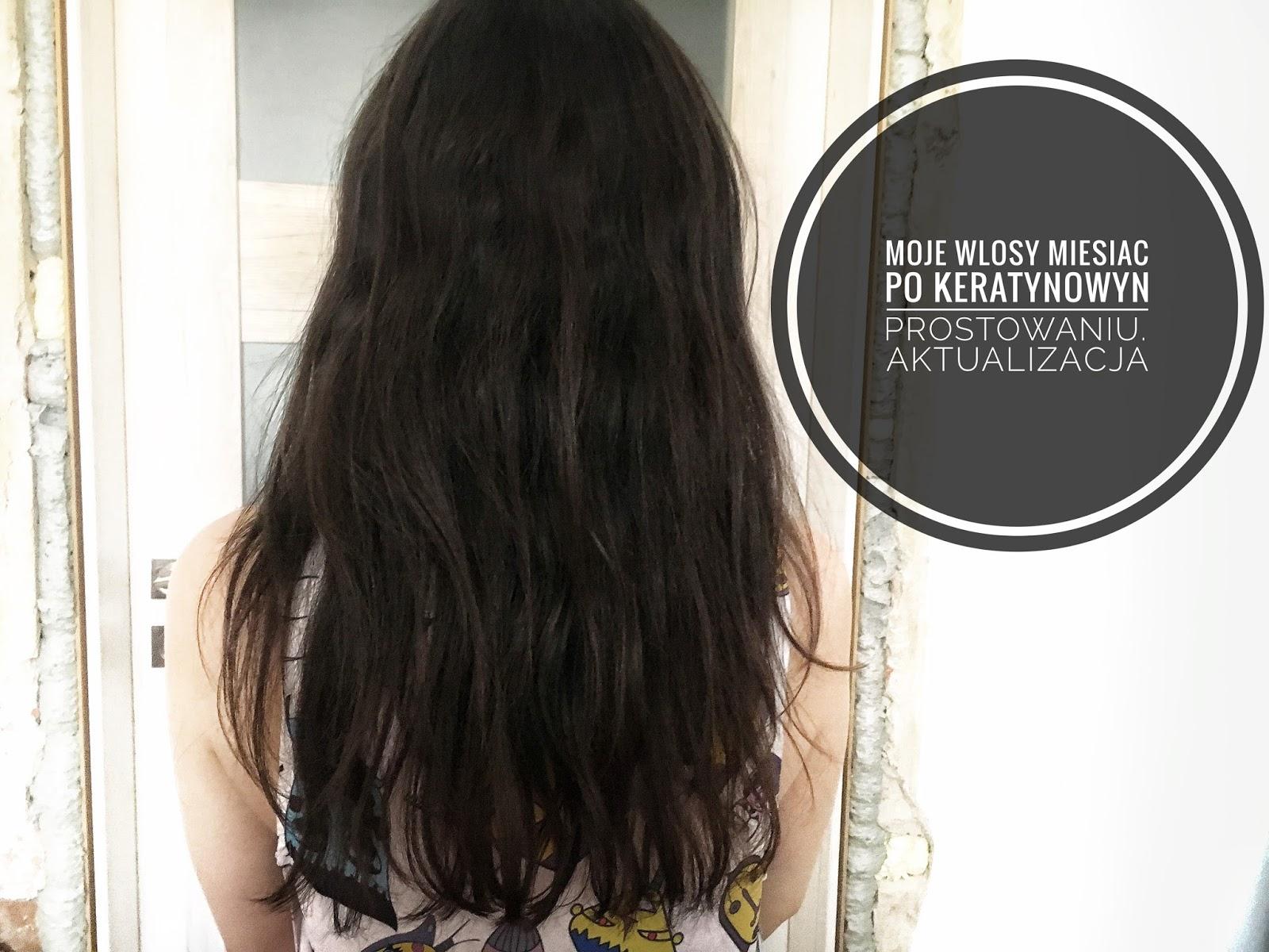 Moja Włosowa Obsesja Moje Włosy Miesiąc Po Keratynowym
