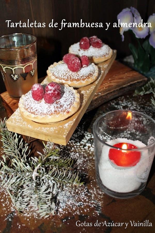 tartaletas-de-frambuesa, raspberry-almond-tarts