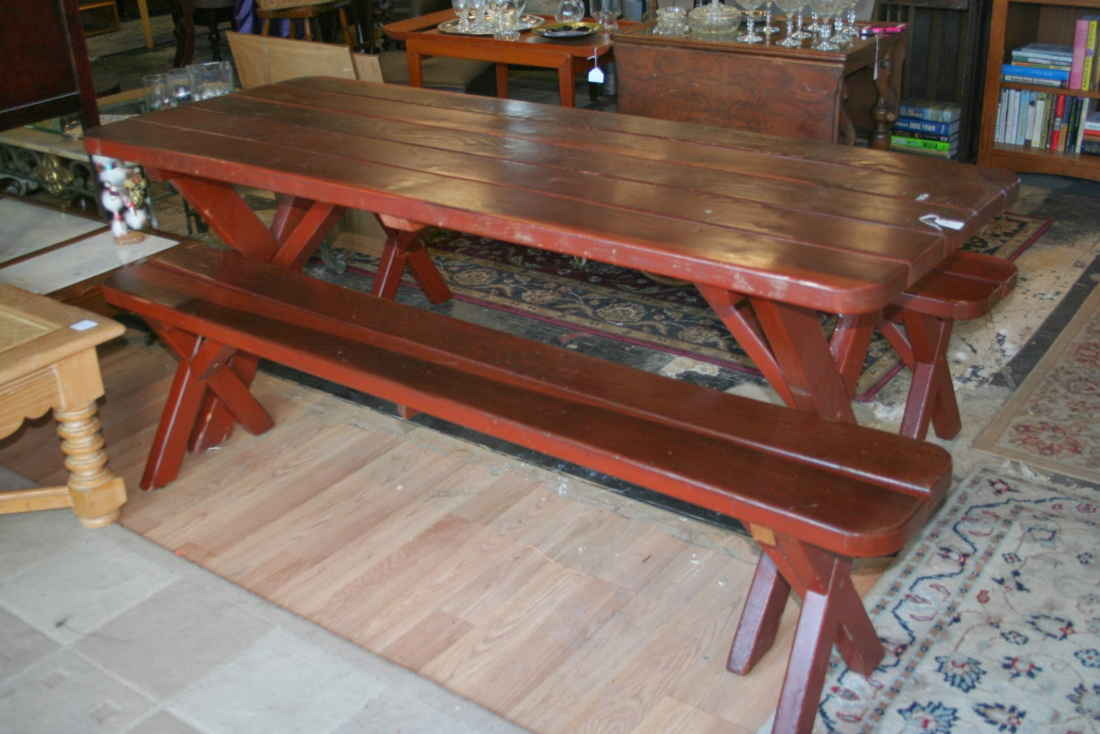 country style kitchen table with bench country kitchen table with bench home decorating ideas 9502