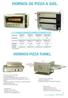 Hornos pizzas a Gas, hornos pizzas Tunel/continuos.