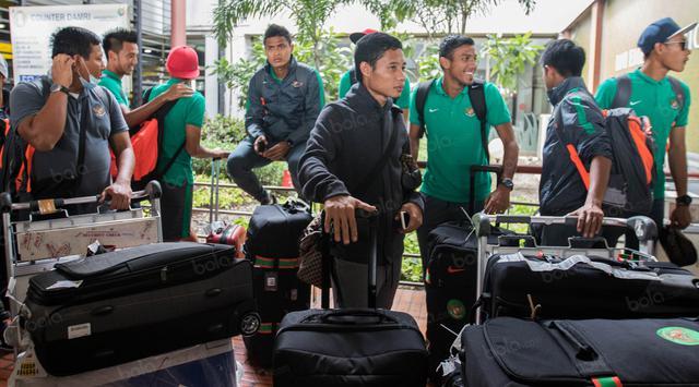Setelah Berjuang di Sea Games, Timnas Indonesia Akhirnya Kembali Pulang Ke Tanah Air