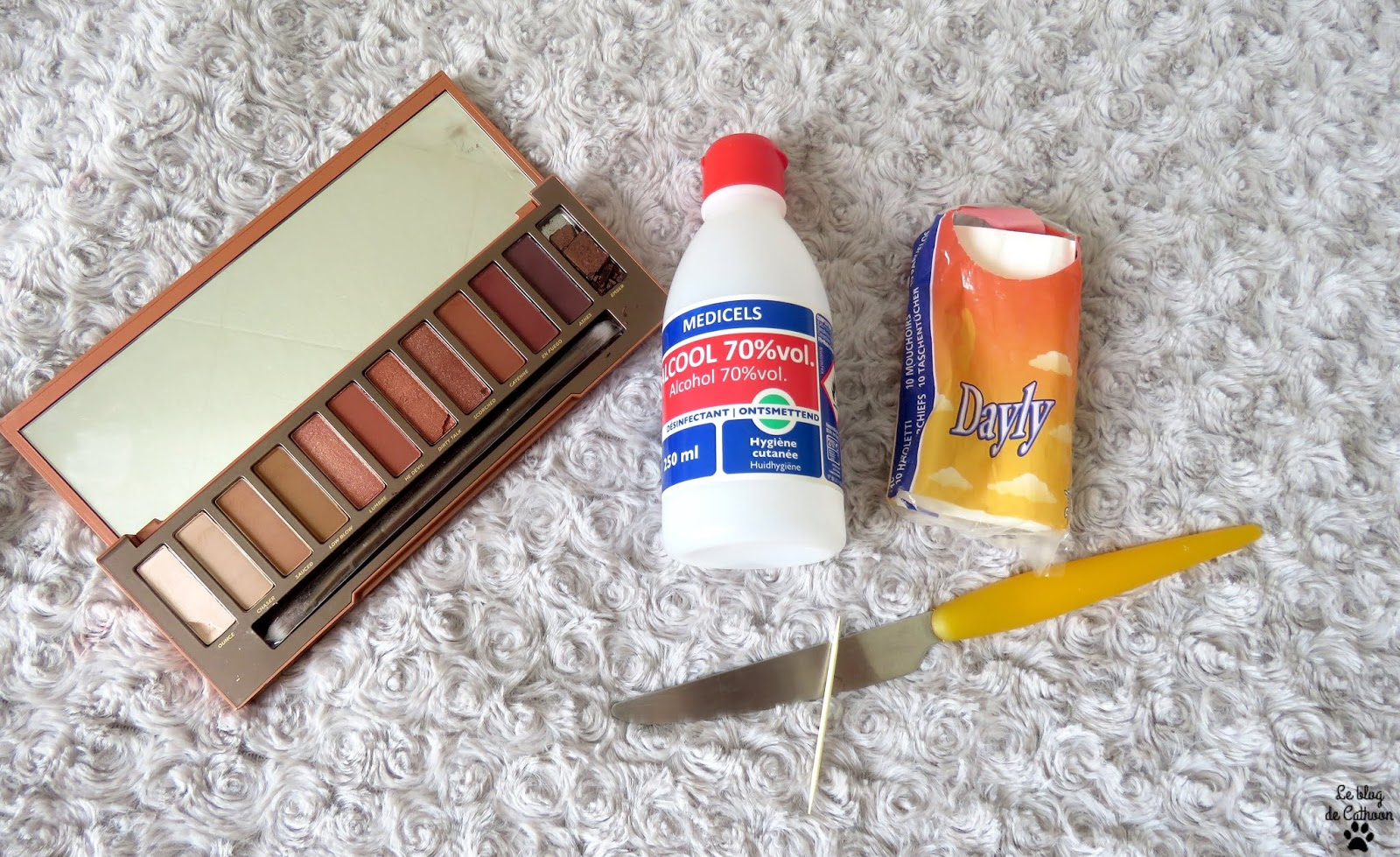Réparer un fard à paupière facilement
