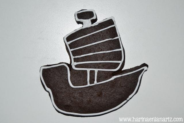 tutorial galleta barco vikingo paso 2