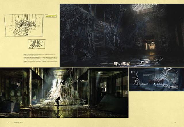 Escenarios en The Art of Ghost In The Shell