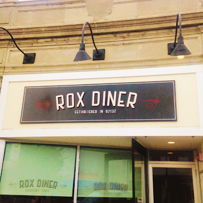 Rox Diner in West Roxbury, Boston, MA - for Boston brunch and lunch