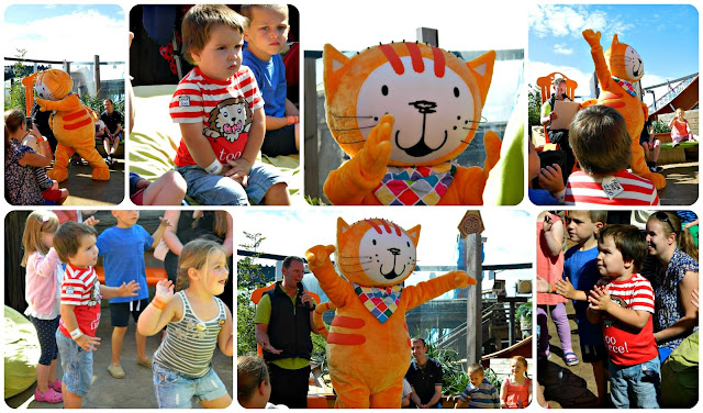 Poppy Cat appears at Blackpool Pleasure Beach Nickelodeon Land