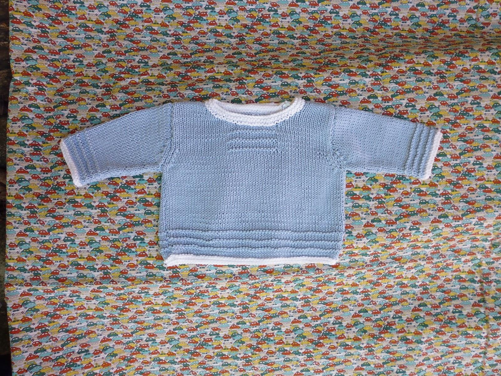 81cf5c2e2 Como puede ser tan largo tejer un jersey para un recién nacido.
