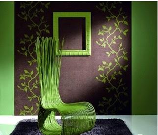 forma bonita de decorar la sala con los colores de la naturaleza, parras en las paredes, decorar con enredaderas en las paredes de la sala