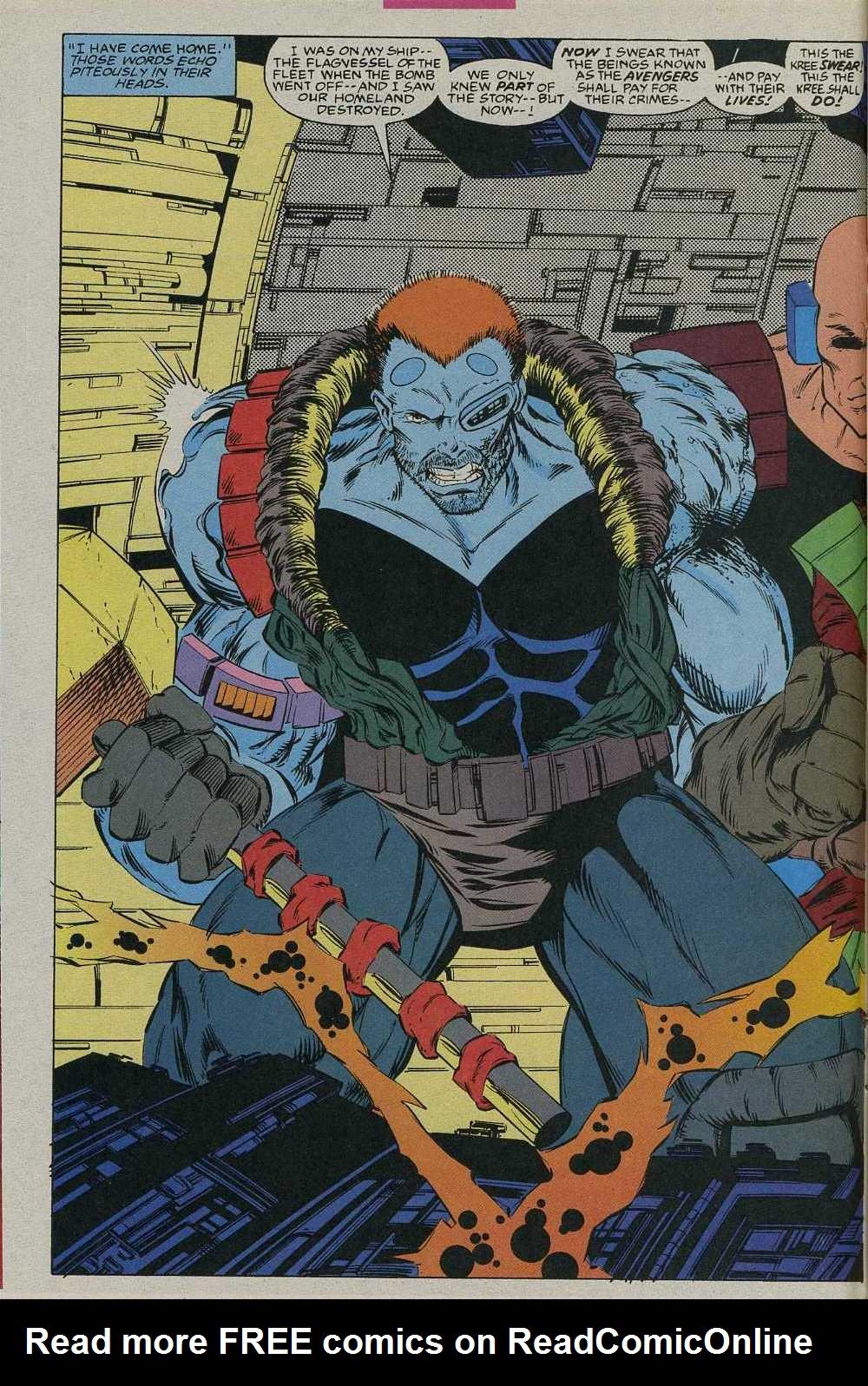 Read online Avengers Strike File comic -  Issue # Full - 15