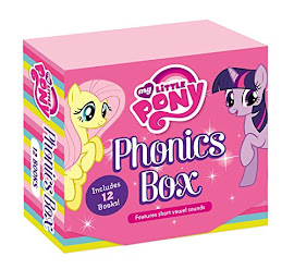 My Little Pony Phonics Box Books