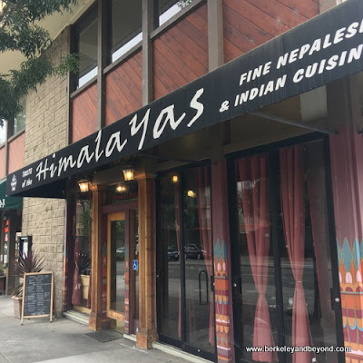 exterior of Taste of the Himalayas in Berkeley, California