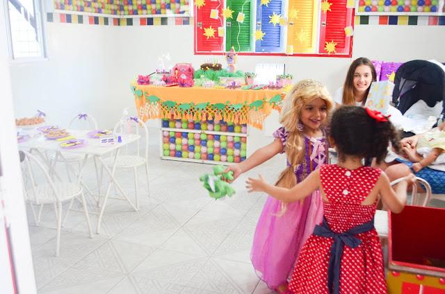Festa Rapunzel a moda antiga!