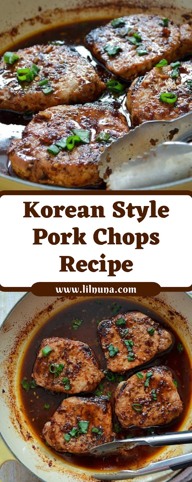 Korean Style Pork Chops Recipe